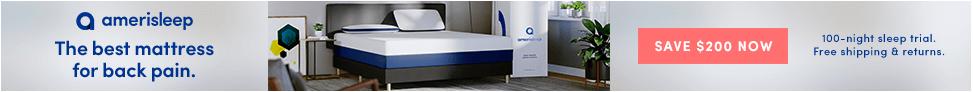 Amerisleep - voted best mattress for back pain